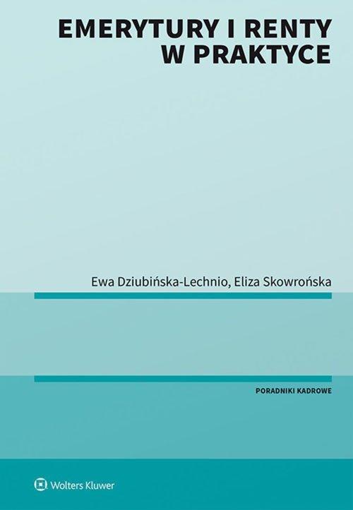 Emerytury i renty w praktyce - okładka książki