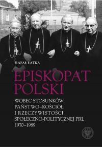 Episkopat Polski wobec stosunków - okładka książki
