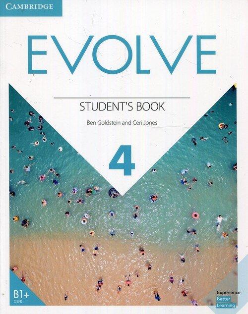 Evolve Level 4. Students Book - okładka podręcznika