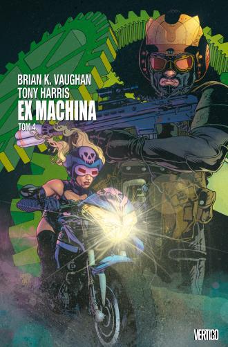 Ex Machina. Tom 4 - okładka książki