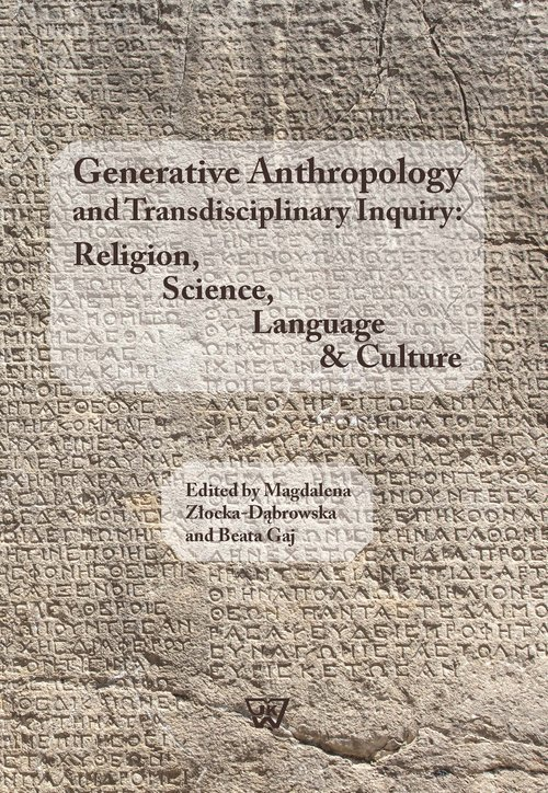 Generative Anthropology and Transdisciplinary - okładka książki