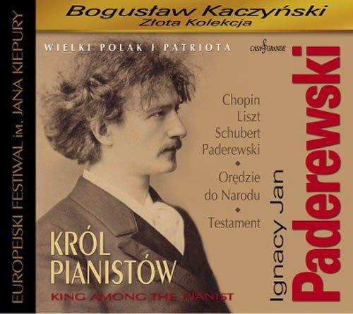 Ignacy Jan Paderewski. Król pianistów. - okładka płyty