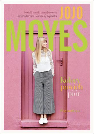 Kolory pawich piór - okładka książki