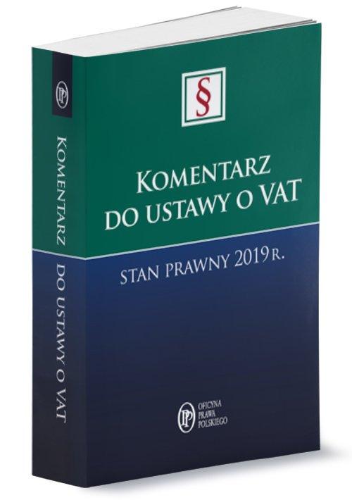 Komentarz do ustawy o VAT Stan - okładka książki
