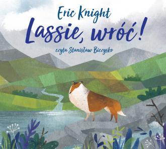 Lassie, wróć! (CD) - pudełko audiobooku