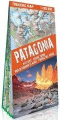 Mapa trekkingowa - Patagonia 1:160 - okładka książki
