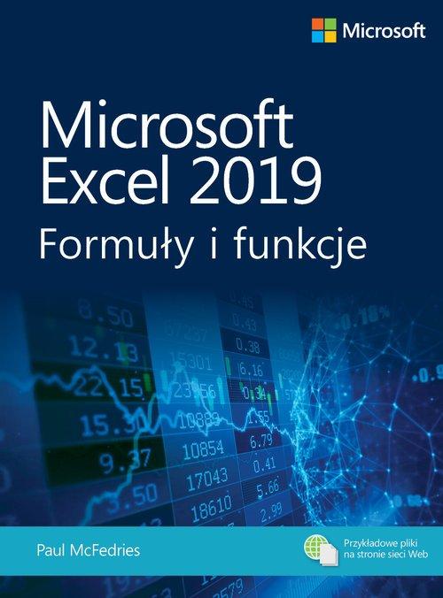 Microsoft Excel 2019. Formuły i - okładka książki