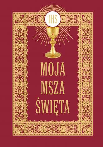 Moja Msza Święta - okładka książki