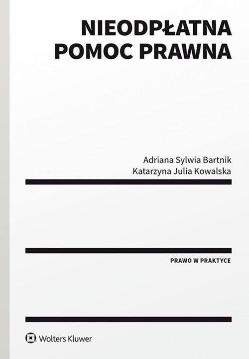 Nieodpłatna pomoc prawna - okładka książki
