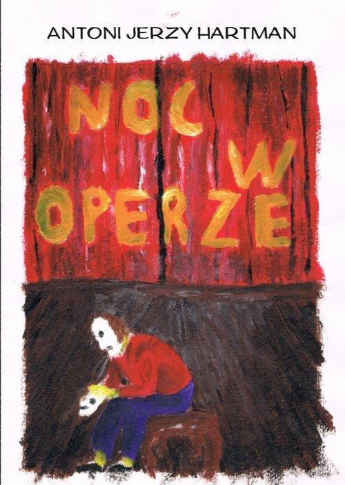 Noc w operze - okładka książki