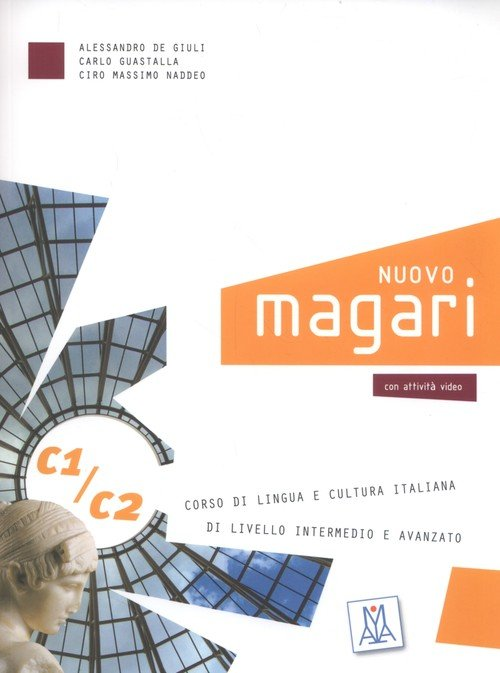 Nuovo Magari C1/C2 Corso di lingua - okładka podręcznika