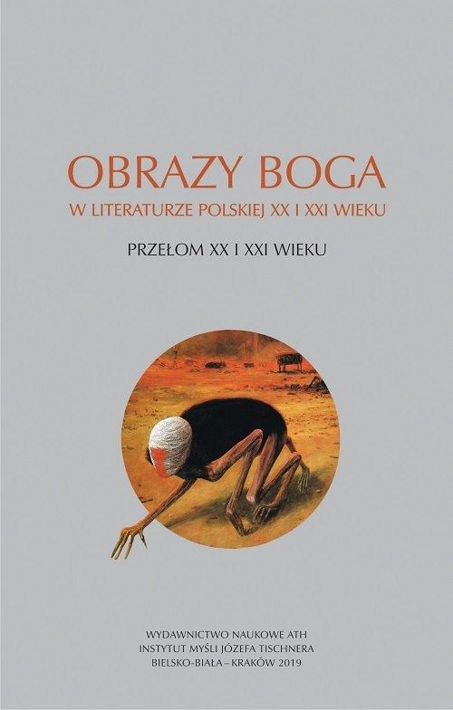 Obrazy Boga w literaturze polskiej - okładka książki