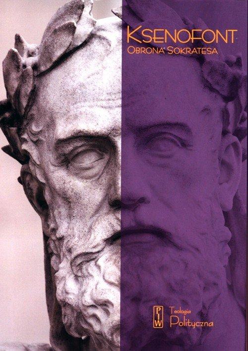 Obrona Sokratesa - okładka książki