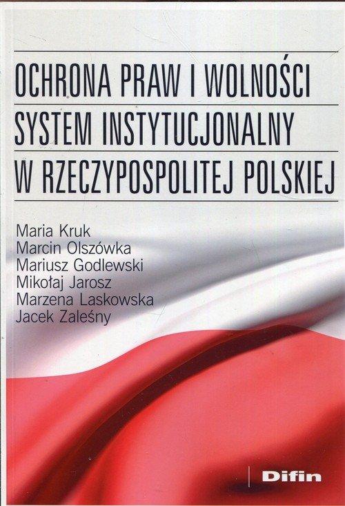 Ochrona praw i wolności system - okładka książki