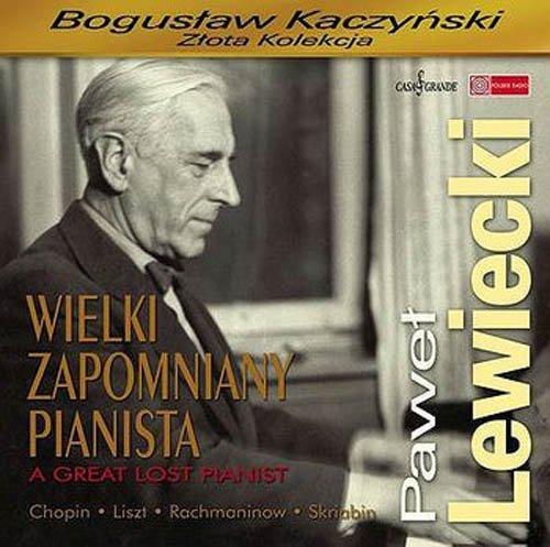 Paweł Lewiecki. Wielki zapomniany - okładka płyty