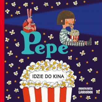 Pepe idzie do kina - okładka książki