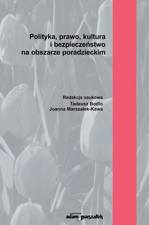 Polityka, prawo, kultura i bezpieczeństwo - okładka książki