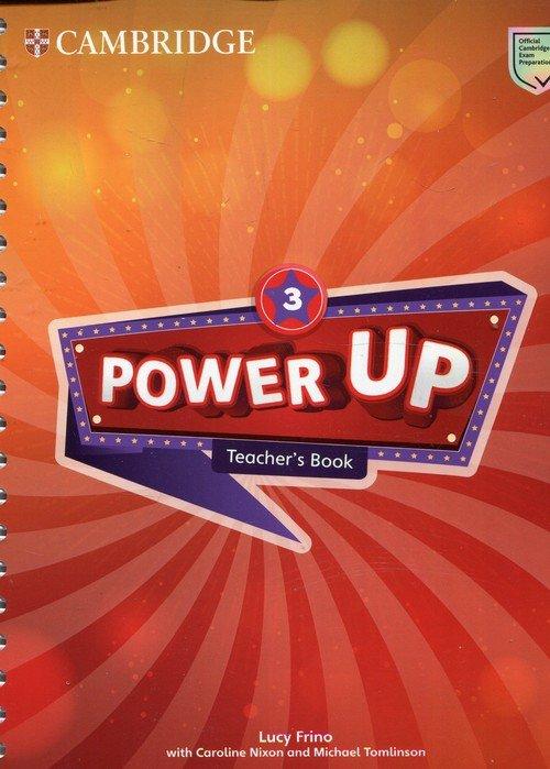Power Up Level 3 Teachers Book - okładka podręcznika