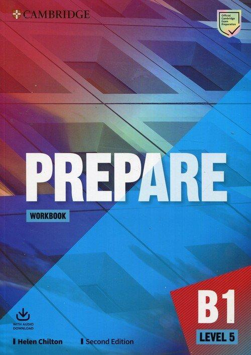 Prepare Level 5 Workbook with Audio - okładka podręcznika