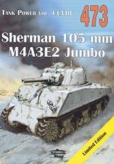 Sherman 105 mm. Tank Power vol. - okładka książki