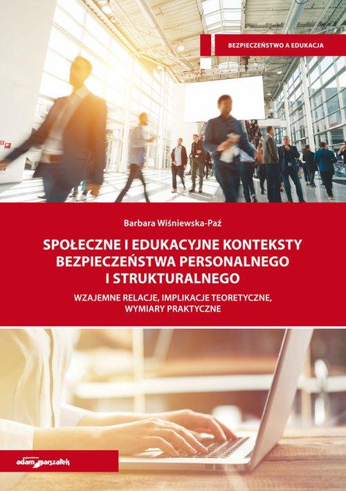 Społeczne i edukacyjne konteksty - okładka książki