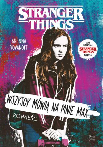 Stranger Things Runaway Max - okładka książki