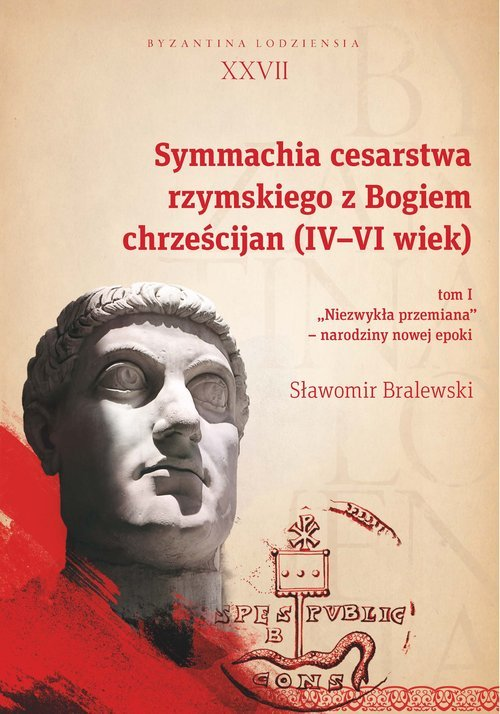 Symmachia cesarstwa rzymskiego - okładka książki