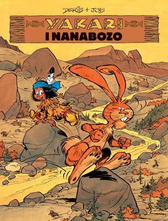 Yakari i nanabozo. Tom 4 - okładka książki