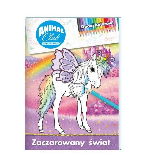 Zaczarowany świat animal club dodaj - okładka książki