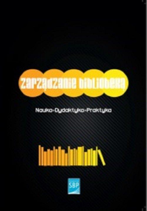 Zarządzanie biblioteką - okładka książki