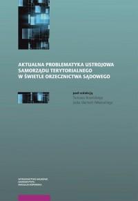 Aktualna problematyka ustrojowa - okładka książki