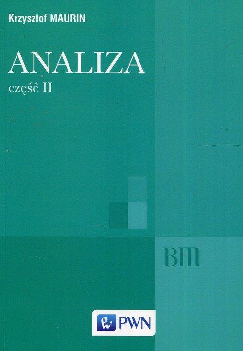 Analiza cz. II. Ogólne struktury - okładka książki
