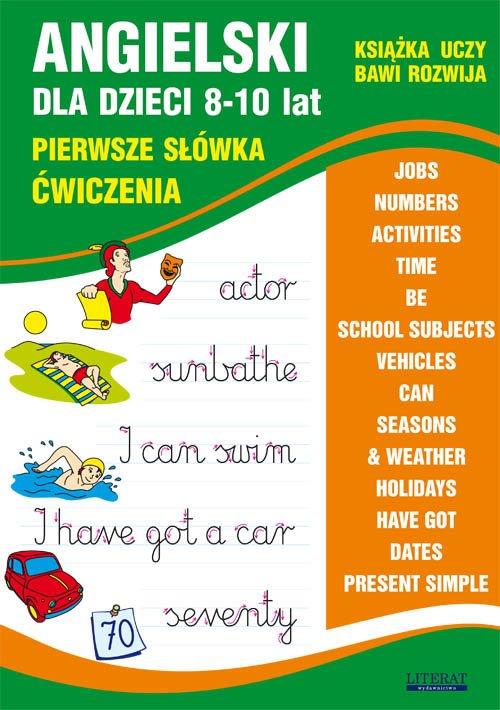 Angielski dla dzieci 8-10 lat. - okładka podręcznika