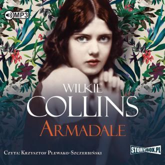 Armadale - pudełko audiobooku