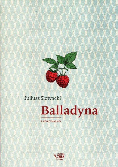 Balladyna. Lektura z opracowaniem - okładka podręcznika