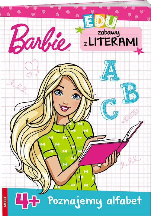 Barbie Zabawy z literami - okładka książki