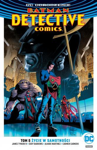Batman. Detective Comics. Tom 5. - okładka książki