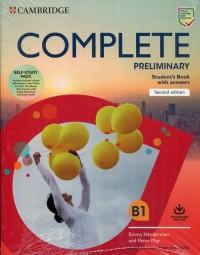 Complete Preliminary Self Study - okładka podręcznika