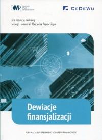 Dewiacje finansjalizacji - okładka książki
