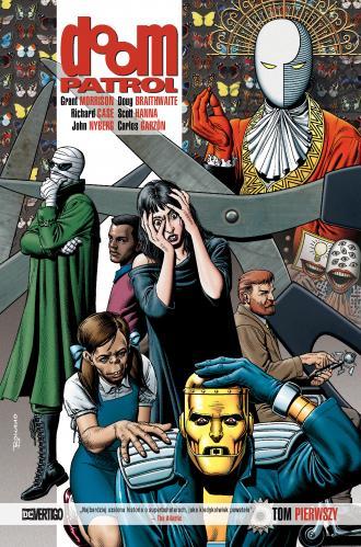 Doom Patrol. Tom 1 - okładka książki