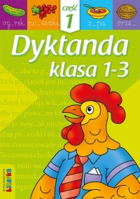Dyktanda. Klasa 1-3 cz.1 - okładka podręcznika