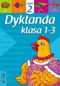 Dyktanda. Klasa 1-3 cz.2 - okładka podręcznika