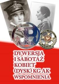 Dywersja i sabotaż kobiet (DYSK) - okładka książki