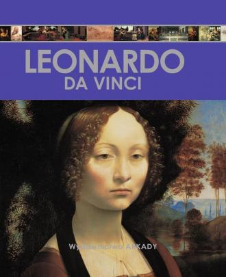 Encyklopedia sztuki Leonardo da - okładka książki