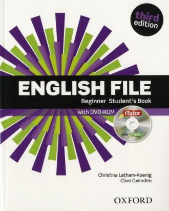 English File 3E Beginner SB - okładka podręcznika
