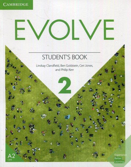 Evolve Level 2 Students Book - okładka podręcznika