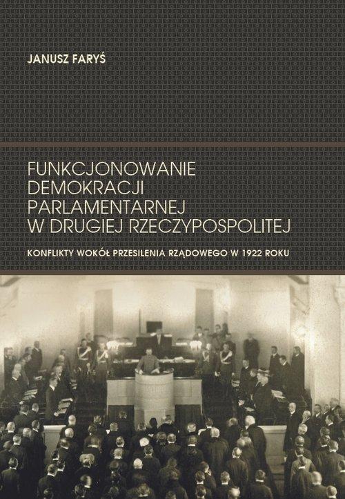 Funkcjonowanie demokracji parlamentarnej - okładka książki