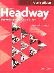 Headway NEW 4E Elementary WB with - okładka podręcznika