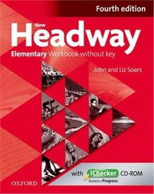 Headway NEW 4E Elementary WB without - okładka podręcznika