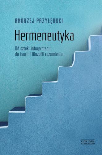 Hermeneutyka. Od sztuki interpretacji - okładka książki
